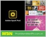 Adobe Spark Post phần mềm làm video animation bằng điện thoại nhanh dễ dàng