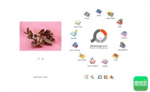 Phần mềm Photoscape